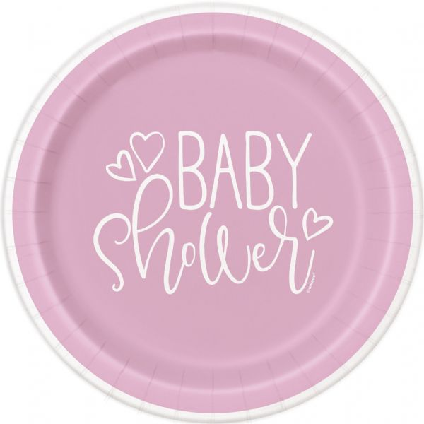 Pink Hearts Baby Shower 9